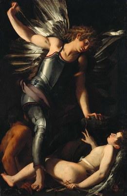 Giovanni Baglione   The Divine Eros Defeats the Earthly Eros   Google Art Project