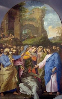 Muziano - La résurrection de Lazare