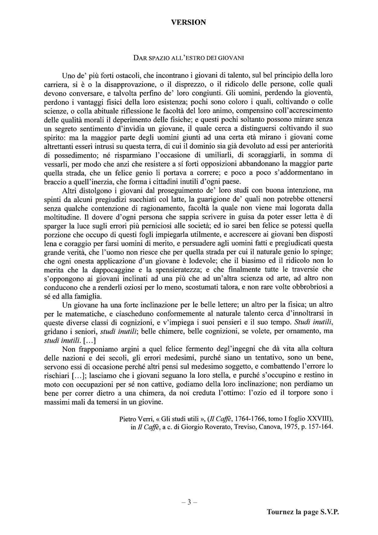 version agreg 2020